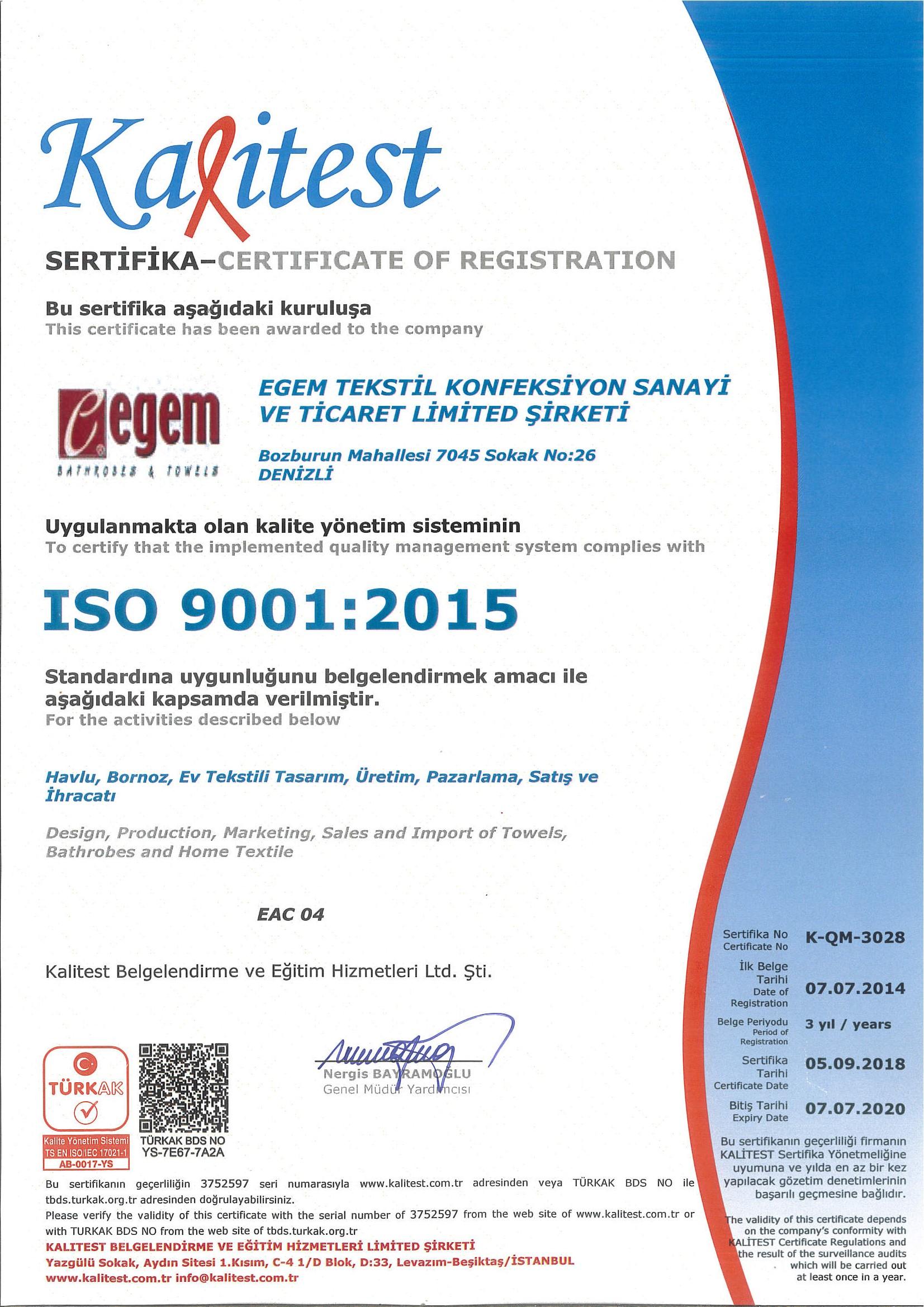 İSO 90012015 SERTİFİKA 2018 (1)
